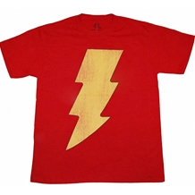 Shazam Distressed Logo T-Shirt