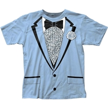 Dumb and Dumber Harry Blue Tuxedo Costume T-Shirt