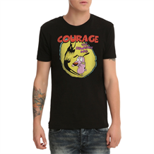 Courage the Cowardly Dog Shadow Logo T-Shirt