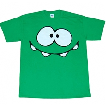 Cut The Rope Om Nom Smiley Face T-Shirt
