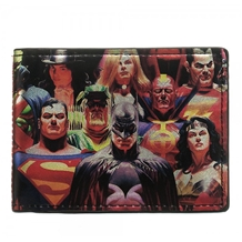 DC Comics Heroes vs Villains Bi-Fold Wallet