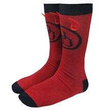 Daredevil Horns Crew Socks