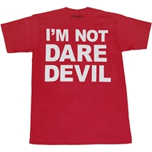 Not Daredevil Mens T-Shirt