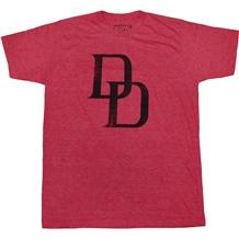 Daredevil Distressed DD Logo T-Shirt