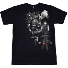 Diablo III Tyrael Side T-Shirt