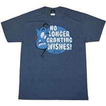 aladdin genie no longer granting wishes t-shirt