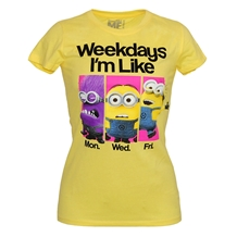 Despicable Me Weekdays I'm Like T-Shirt