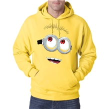Despicable Me Minion Big Face Hoodie