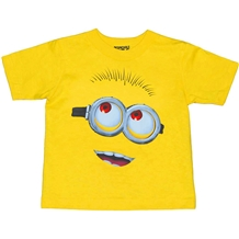 Despicable Me Minion Face Toddler T-Shirt