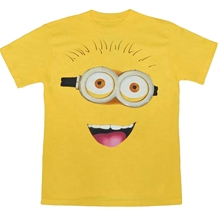 Despicable Me Minion Face Adult T-Shirt