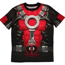 Deadpool Sublimation Athletic Costume T-Shirt