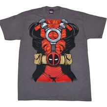 Deadpool Costume T-Shirt