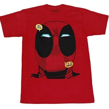 Deadpool Big Head T-Shirt