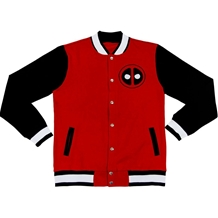 Marvel Team Deadpool Varsity Jacket