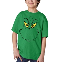 Dr. Seuss Grinch Face Youth T-Shirt