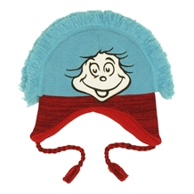 Dr Suess Thing Mohawk Laplander Beanie