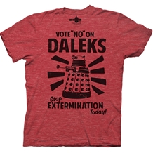 Doctor Who Vote No On Daleks T-Shirt