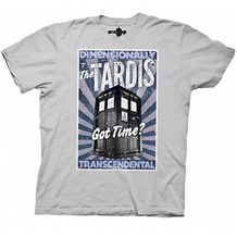Doctor Who Dimensionally Transcendental T-Shirt