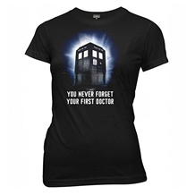 Doctor Who First Doctor Ladies Junior T-Shirt