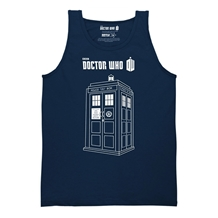 Doctor Who Tardis Vector Tank Top