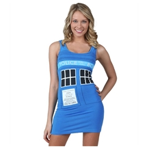 Doctor Who Tardis Costume Tunic Tank Dress