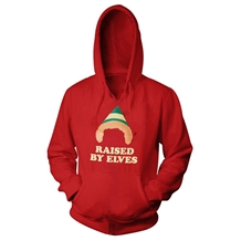 Elf Raised by Elves Hoodie