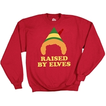 Elf Movie: Raised by Elves Sweatshirt