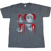 Friday The 13th I Heart JV T-Shirt