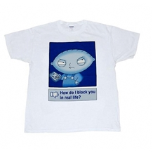 Stewie Real Life Block T-Shirt