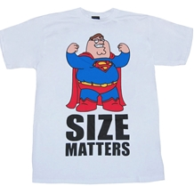 Family Guy Peter Size Matters T-Shirt