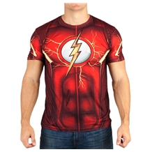 Flash Suit Up Sublimated Costume T-Shirt