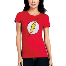 Flash Logo Junior Ladies T-Shirt