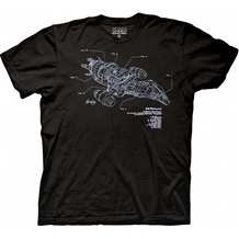 Firefly Serenity Diagram T-Shirt