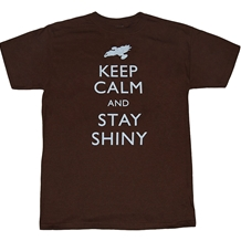 Firefly Keep Calm and Stay Shiney T-Shirt