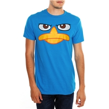 Perry the Platypus Duck Bill Adult T-Shirt