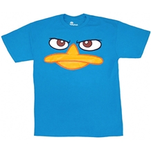 Perry the Platypus Duck Bill YouthT-Shirt