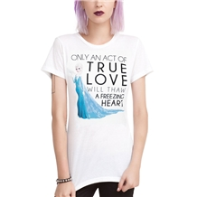Frozen Elsa True Love Stand Junior Womens T-Shirt