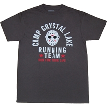 Friday the 13th Camp Crystal Lake Running Team T-Shirt