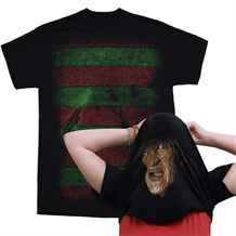 Freddy Kruger Pull Over Mask T-Shirt