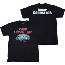 Friday the 13th Crystal Lake Camp Counselor T-Shirt