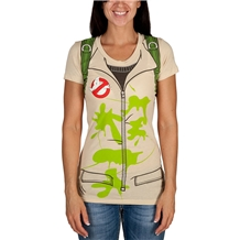 Ghostbusters Costume Junior Women's T-Shirt
