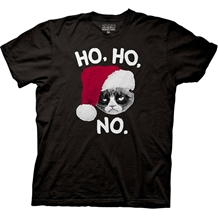 Grumpy Cat Ho Ho Ho T-Shirt