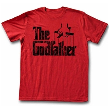 The Godfather Distressed Logo Red T-Shirt