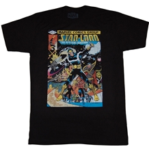 Guardians of the Galaxy Star Lord Cover #1 T-Shirt