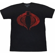 GI Joe Cobra Distressed Logo T-Shirt