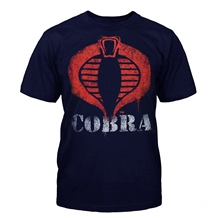 GI Joe Cobra Logo Paint T-Shirt