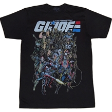 G.I. Joe Group T-Shirt