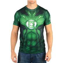 Green Lantern Suit Up Sublimated Costume T-Shirt