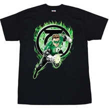 Green Lantern Space Cop T-Shirt