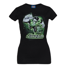 Green Lantern Space Junior T-Shirt